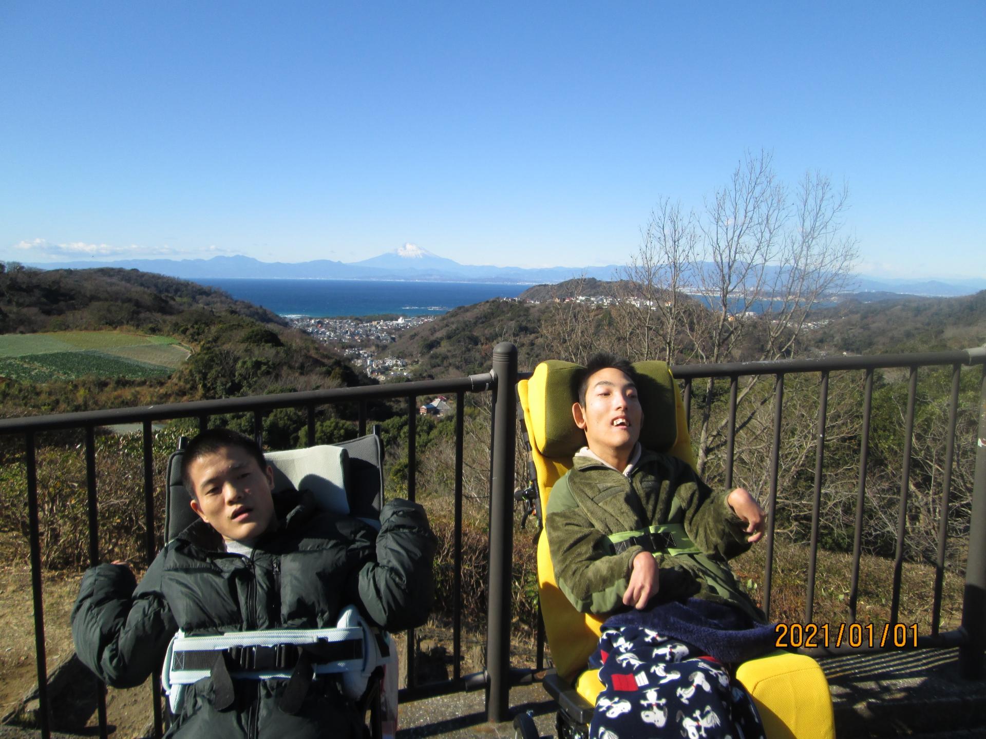 お正月ドライブ・富士山に出会えるかな??!!