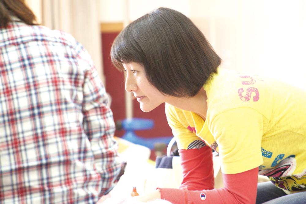 リーダー看護スタッフ 小島陽子さん